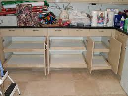 kitchen cabinet organization slide outs roll pull charming modular