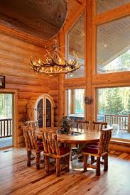Log Home Interior Design Log Home Interiors Yellowstone Log Homes