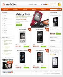 price plan design website template 24920 mobile shop store custom website template