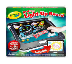 Light Up Drafting Table by Dry Erase Light Up Board Crayola