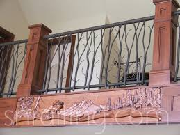 Banister Lake Residential Railings Traditional Staircase Salt Lake City