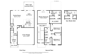 2 Car Garage Floor Plans 1684 Plan Home Builders In Augusta Ga