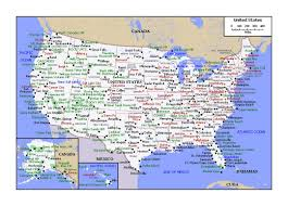 United States Of Anerica Map by Political Map Of The United States Usa Maps Of The Usa Maps