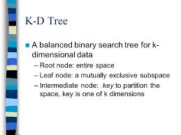 optimization of icp using k d tree ppt