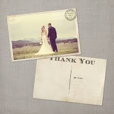 wedding thank you postcards reserved for wolverine0911 vintage wedding postcard thank