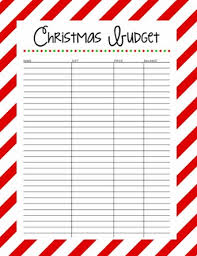 set a christmas budget day 3 of 31 days to take the stress out of
