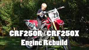 crf250r engine rebuild bottom end part 1 of 4 youtube