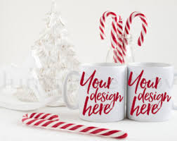 christmas hers his and hers mugs etsy