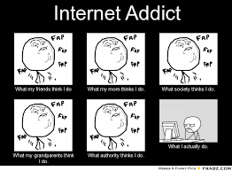 Internet Friends Meme - frabz internet addict what my friends think i do what my mom