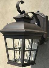 plug in electric outdoor wall u0026 porch lights ebay