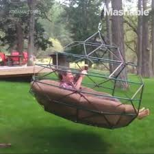 mashable the backyard swing has been reinvented and it u0027s