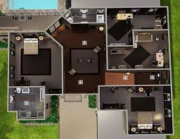 sims 3 modern house floor plans labels residential lots comments reactions email this blogthis