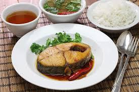 cuisine vietnamienne kho de com ca thu cuisine vietnamienne image stock image du