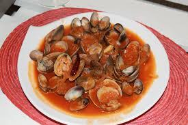 cuisiner des palourdes fraiches almejas al tomate palourdes sauce tomate ô my goût