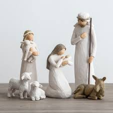 awe and willow tree nativity set dayspring