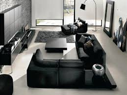 black and gray living room ideas best house design modern grey