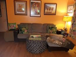 orange living room home ideas the in the band