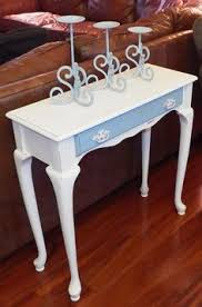 queen anne entry table queen anne console table steel table with cherry wood top 40 x 14