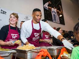 sixth annual why not thanksgiving dinner oklahoma city thunder