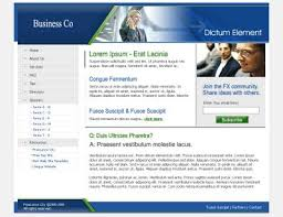 free templates for business websites free website templates with business theme 1