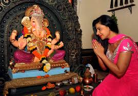 home decoration of ganesh festival ganesh chaturthi 2013 hindus celebrate birthday of lord ganesh