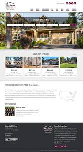 Free Real Estate Website Template by 61 Best Responsive Website Designs Images On Pinterest Website