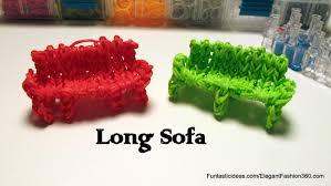 loom sofa rainbow loom sofa charm only 1 loom how to home series