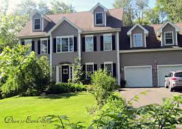 gray exterior house paint ideas color schemes white trim black