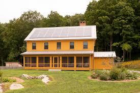 screen porch panels exterior farmhouse with brick chimney gable