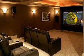 Luxury Family Home Theater Room Decor Picture  Home Theatre - Home theater design plans