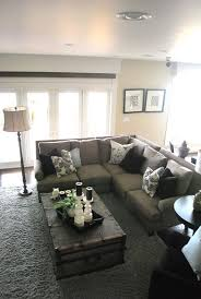 Coffee Table For Sectional Sofa Design Guide How To Style A Sectional Sofa Coffee Gray And House