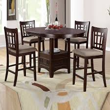51 Round High Top Table Set Chairs Counter Height Glass Top Dining