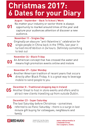 black friday times 2017 christmas 2017 marketing guide part 1 red man media