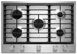 30 Inch 5 Burner Gas Cooktop Latest Jenn Air Cooktops Now Available At Retail
