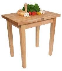 butcher block side table home design