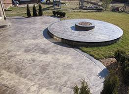 Exposed Aggregate Patio Stones Unique Cement About Us Concrete Contractors Michigan