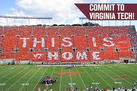 Virginia Tech Parking Map by Home Hokie Club Virginia Tech Athletic Fund