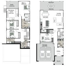 narrow house floor plans small lot house floor plans small lot house by narrow lot lake house