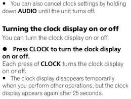 solved want to know how to set the clock on deh 1000 fixya