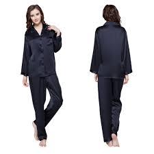 Full Length Bathrobe 22 Momme Full Length Silk Pajamas Set
