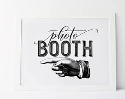 photo booth sign photobooth sign etsy