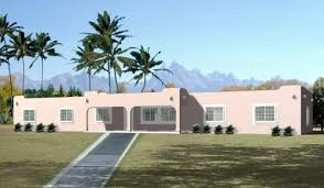 santa fe style house plans santa fe house plan 4 bedrooms 2 bath 2048 sq ft plan 41 703