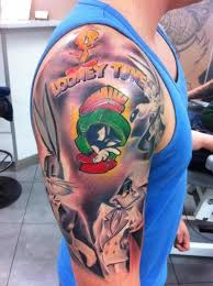 looney toons tattoo ideas cool tattoos inspired by looney tunes