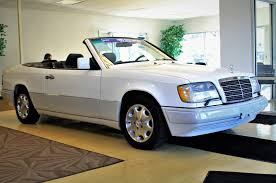 mercedes e 320 just listed 51 000 mile 1995 mercedes e320 cabriolet