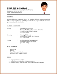 Resume Format For Applying Job Abroad by Back To Post Examples Of Resume For A Job Application Resume