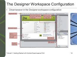 configure xp dreamweaver tutorial 1 getting started with adobe dreamweaver cs4 ppt download
