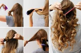 different ways to curl your hair with a wand how to get curly hair naturally at home weetnow
