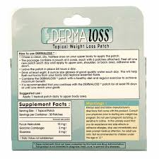 premier marketing dermaloss weight loss patch 30 topical