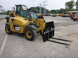 used caterpillar th255 telescopic handlers year 2008 price