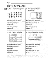 explore building arrays gr 2 teachervision